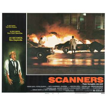SCANNERS Photo de film N7 28x36 - 1981 - Patrick McGoohan, David Cronenberg