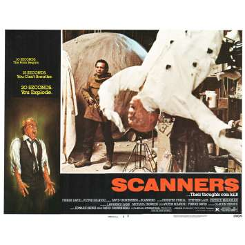 SCANNERS Photo de film N8 28x36 - 1981 - Patrick McGoohan, David Cronenberg