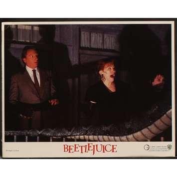 BEETLEJUICE US Lobby Card 11x14- 1988 - Tim Burton, Michael Keaton