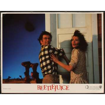 BEETLEJUICE Photo de film N8 28x36 - 1988 - Michael Keaton, Tim Burton