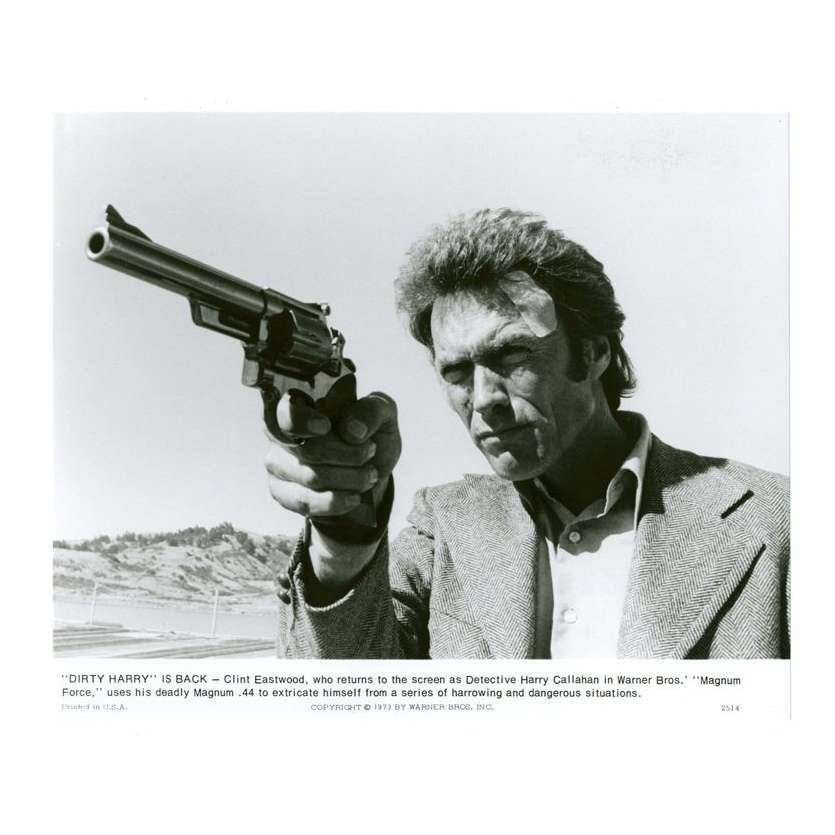 Mauvais-genres.com CLINT EASTWOOD Magnum Force USA 1973 Photo Photos