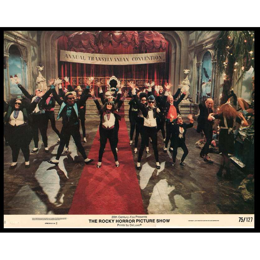 ROCKY HORROR PICTURE SHOW US Lobby Card 11x14- 1975 - Jim Sharman, Tim Curry