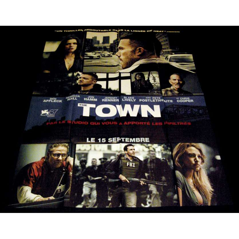 THE TOWN French Movie Poster 47x63- 2010 - Ben Affleck, Jon Hamm