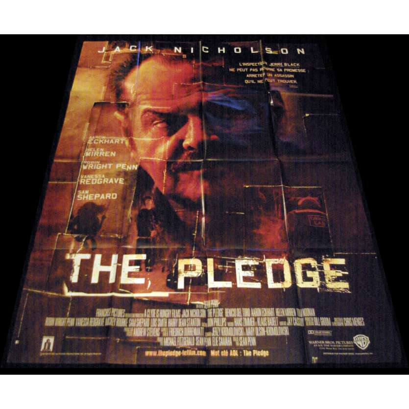 THE PLEDGE French Movie Poster 47x63- 2001 - Sean Penn, Jack Nickolson