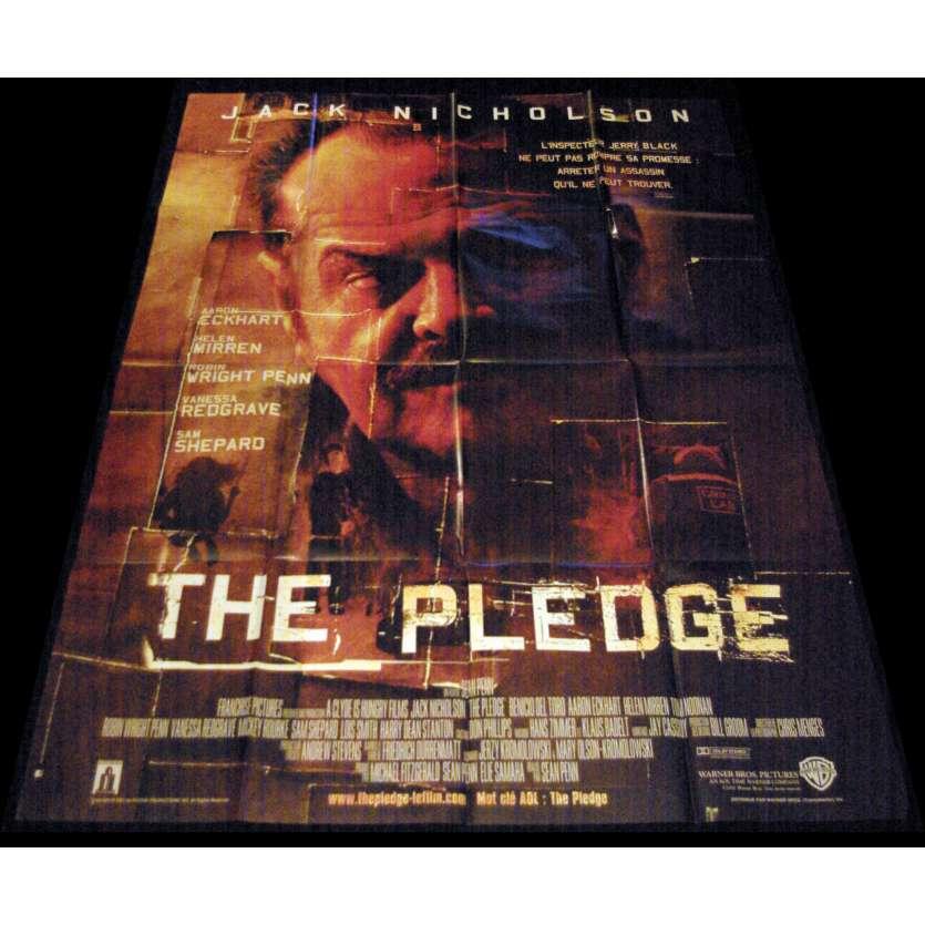 THE PLEDGE French Movie Poster 47x63- 2001 - Sean Penn, Jack Nickolson
