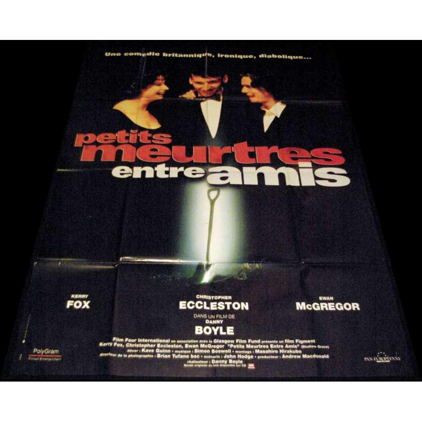 PETITS MEURTRES ENTRE AMIS Affiche de film 120x160 - 1994 - Ewan McGregor, Danny Boyle
