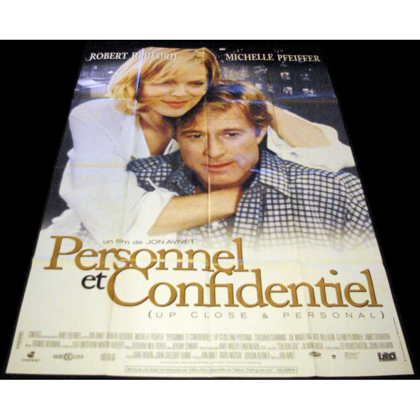 UP CLOSE AND PERSONAL French Movie Poster 47x63- 1996 - Jon Avnet, Robert Redford