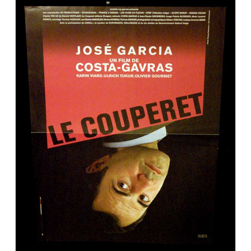 THE AX French Movie Poster 15x21- 2005 - Costa Gavras, José Garcia