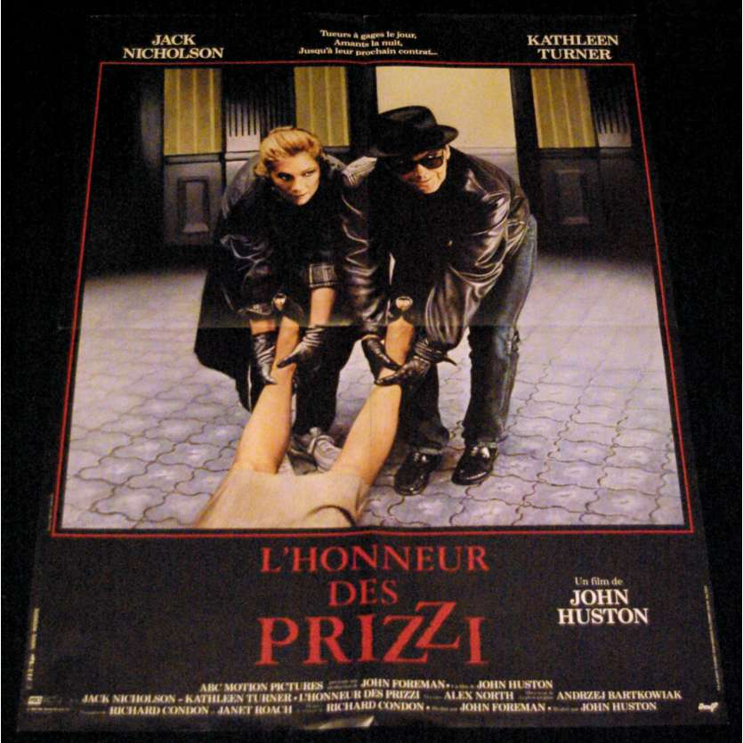 L'HONNEUR DES PRIZZIS Affiche de film 60x80 - 1985 - Jack Nickolson, John Huston