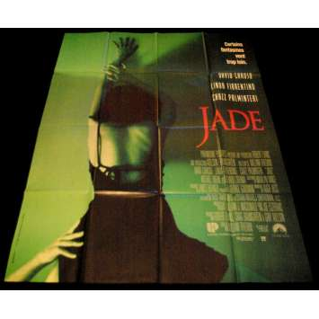 JADE Affiche de film 120x160 - 1995 - Linda Fiorentino, William Friedkin