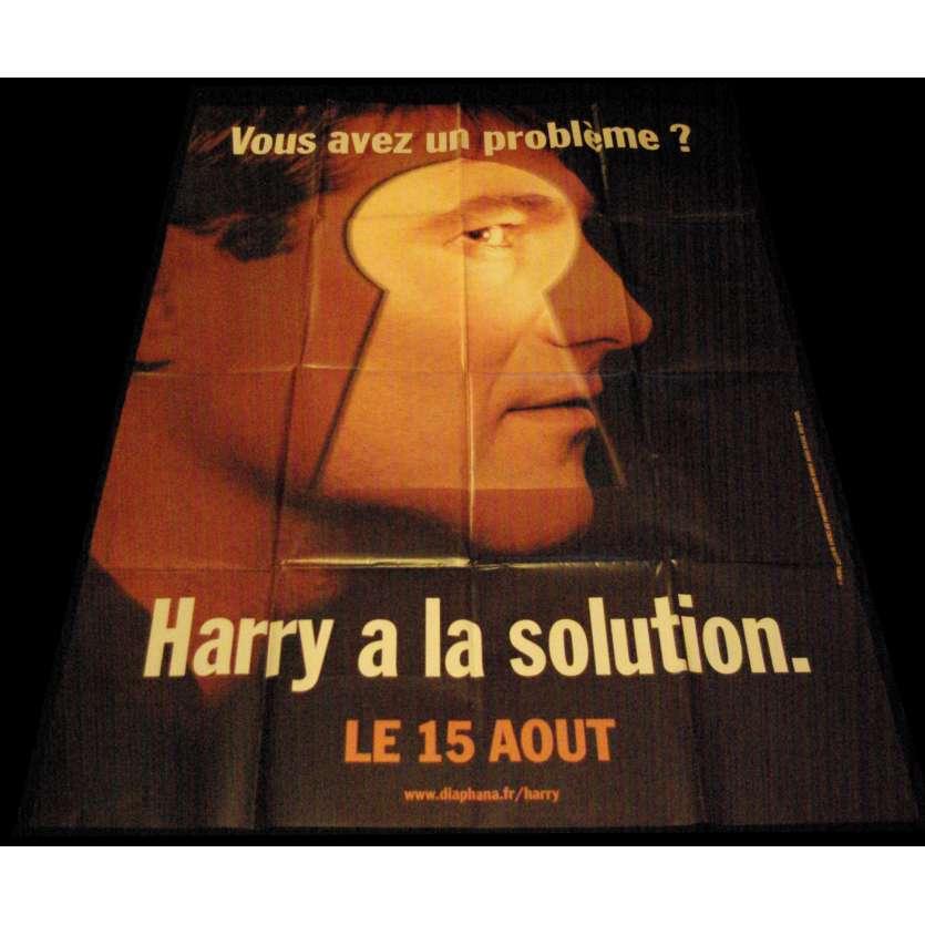 HARRY UN AMI QUI VOUS VEUT DU BIEN Affiche de film 120x160 - 2000 - Sergi Lopez, Dominik Moll
