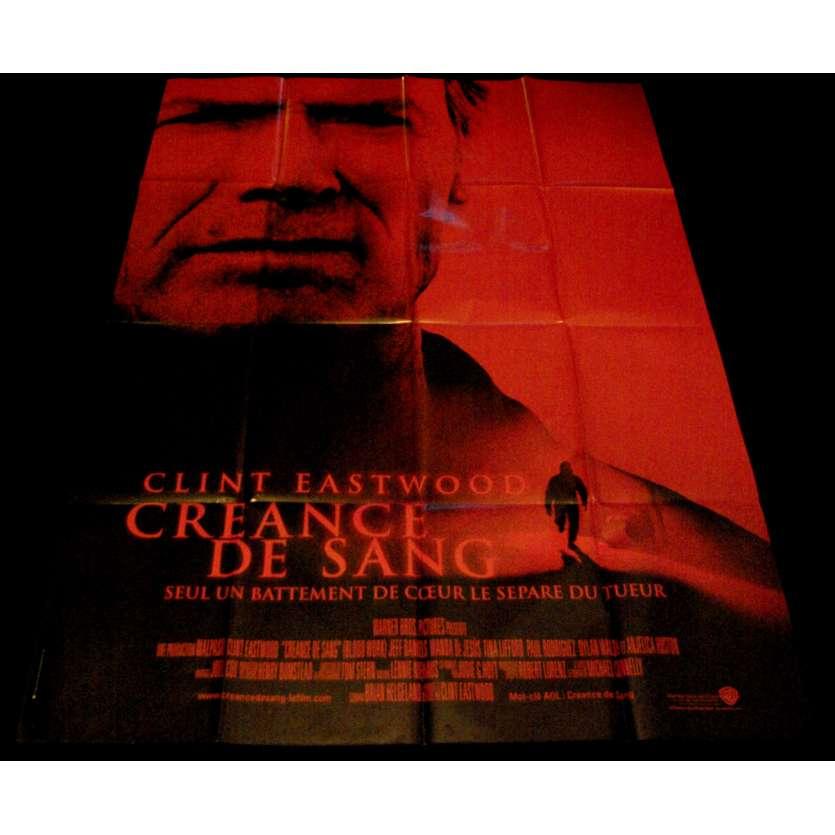 CREANCE DE SANG Affiche de film 120x160 - 2002 - Jeff Daniels, Clint Eastwood