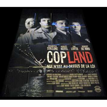 COP LAND French Movie Poster 47x63- 1992 - James Mangold, Sylvester Stallone