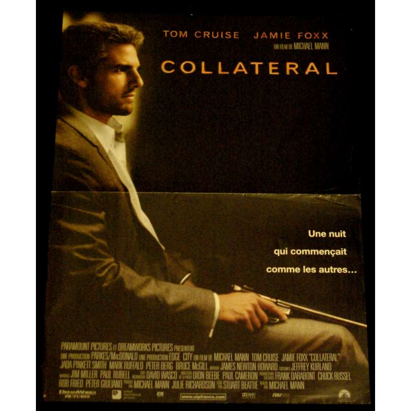 COLLATERAL French Movie Poster 15x21- 2004 - Michael Mann, Tom Cruise