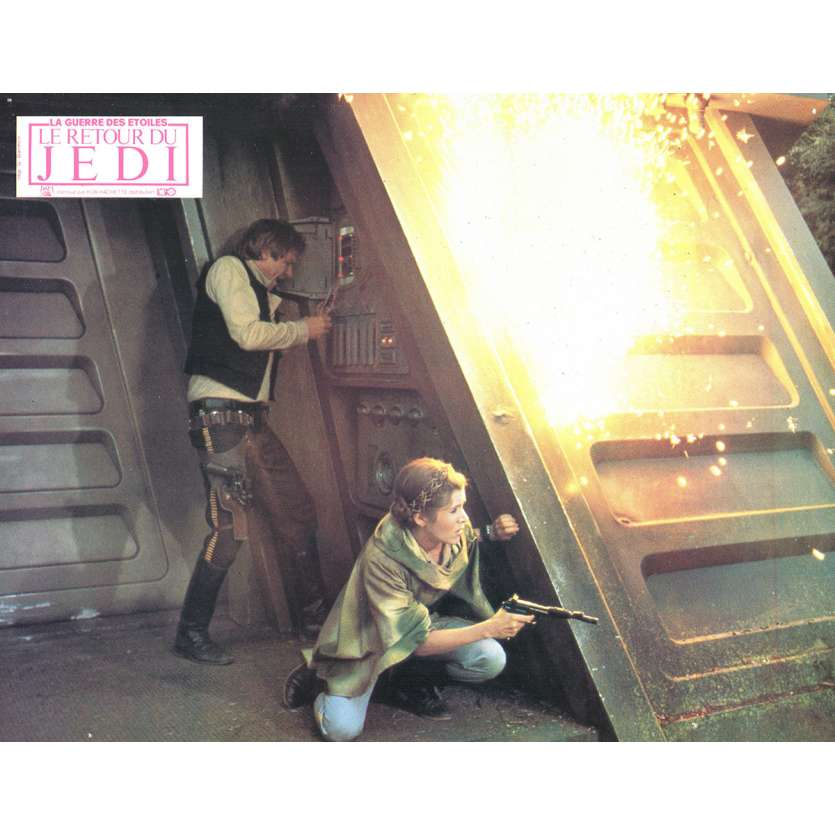 STAR WARS - THE RETURN OF THE JEDI French Lobby Card 6 8x11 - 1983 - Richard Marquand, Harrison Ford