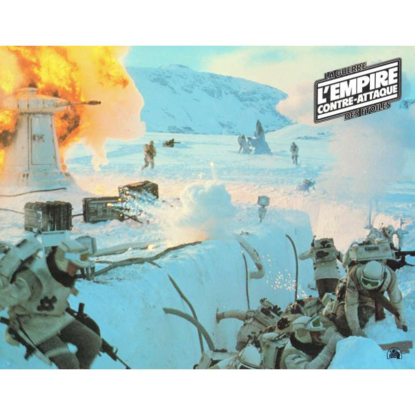 STAR WARS - THE EMPIRE STRIKES BACK French Lobby Card 9 8x11 - 1980 - Irvin Keshner, Harrison Ford