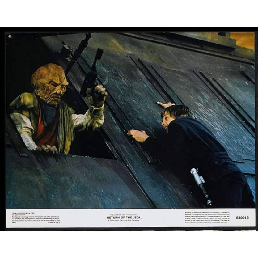 STAR WARS - THE RETURN OF THE JEDI US Lobby Card 1 11x14 - 1983 - Richard Marquand, Harrison Ford