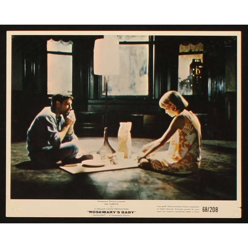 ROSEMARY'S BABY Photo de film 4 20x25 - 1968 - Mia Farrow, Roman Polanski