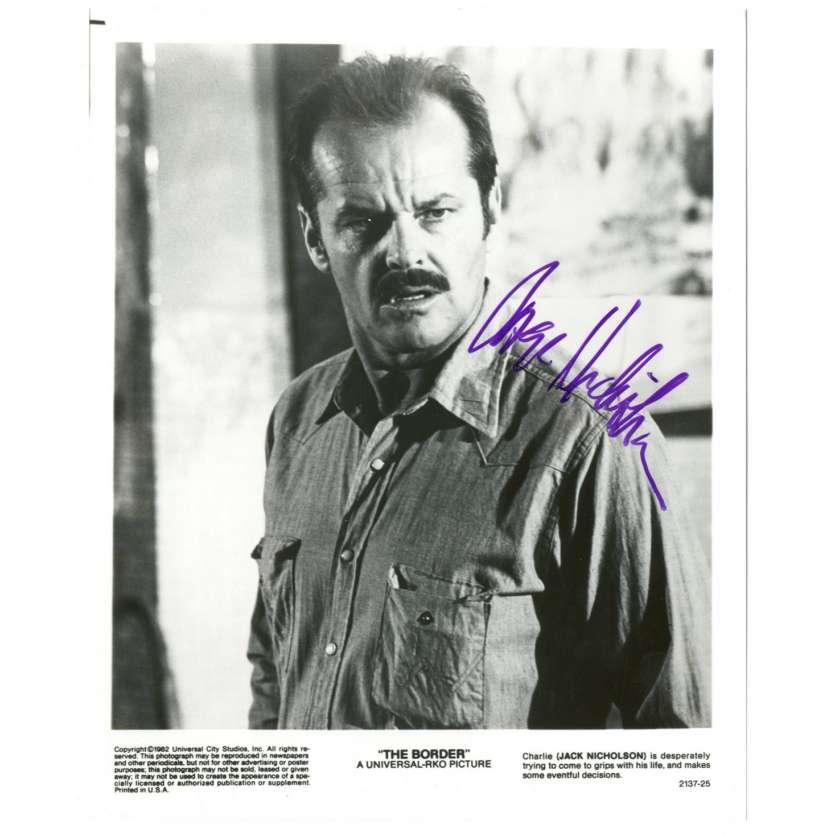 JACK NICKOLSON Signed Still 8x10 - 2001 - Police Frontière,