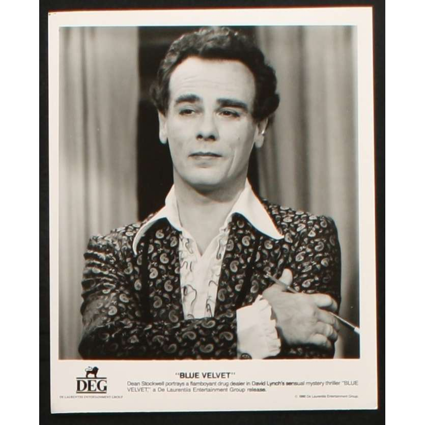 BLUE VELVET US Still 2 8x10- 1986 - David Lynch, Kyle Maclahan