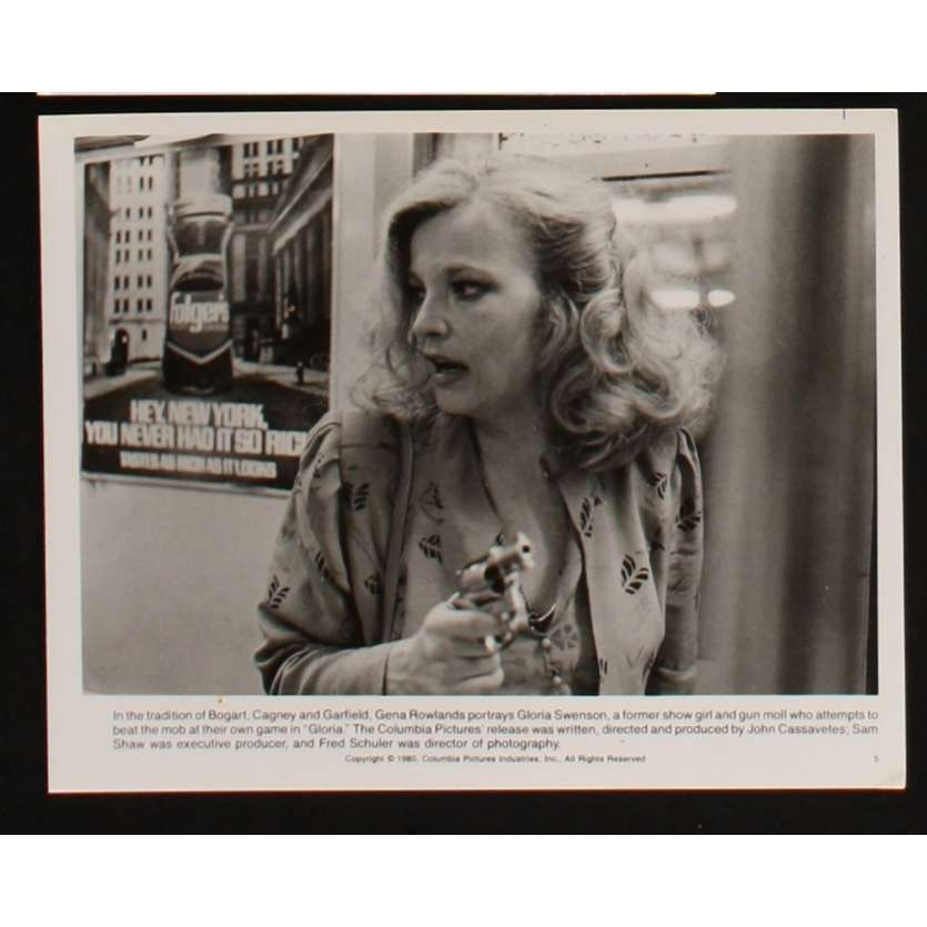 GLORIA Still 2 8x10 - 1980 - John Cassavetes, Gena Rowlands