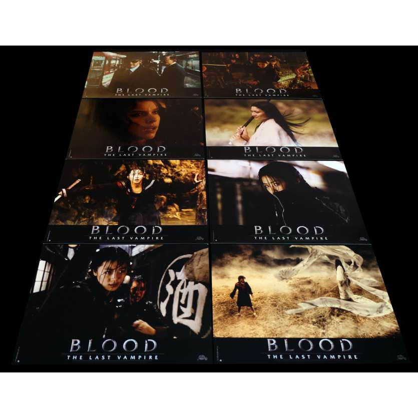 BLOOD, LE DERNIER VAMPIRE Photos 21x30 - 2009 - Gianna Jun, Chris Nahon