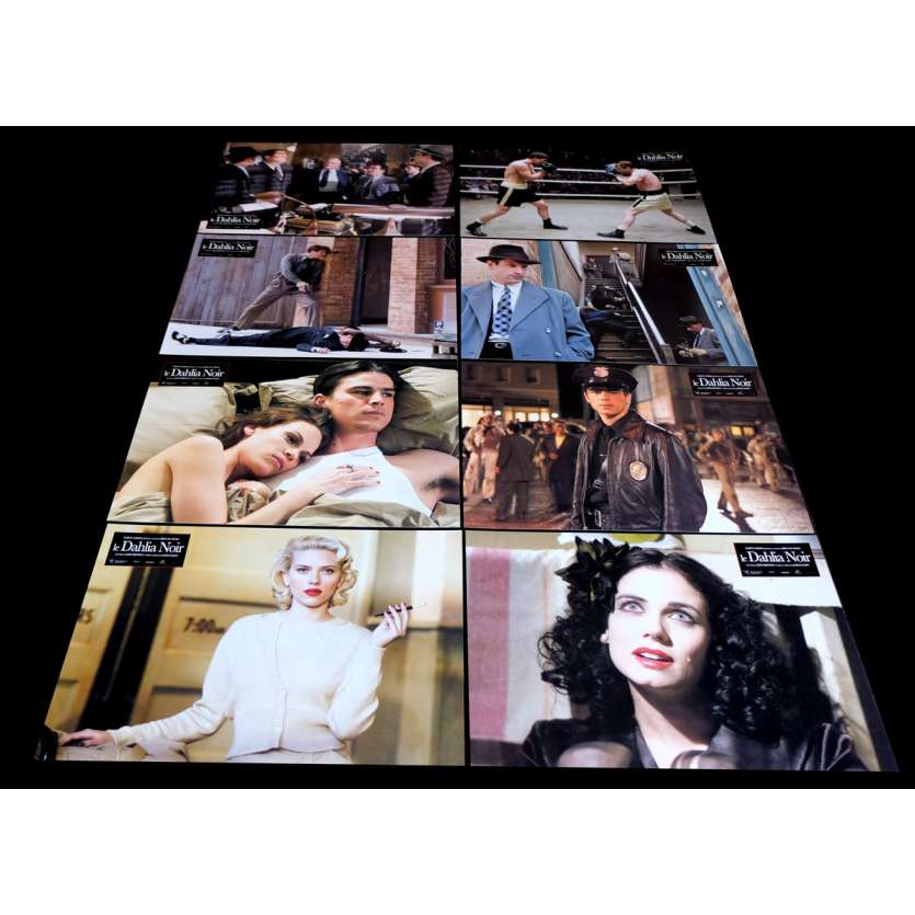 BLACK DAHLIA French Lobby Cards 9x12- 2006 - Brian De Palma, Josh Hartnett
