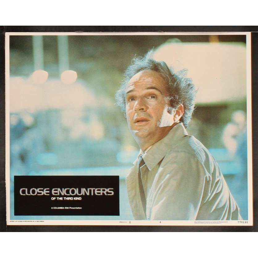 RENCONTRES DU 3E TYPE Photo 4 20x25 - 1977 - Richard Dreyfuss, Steven Spielberg