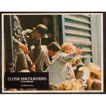 CLOSE ENCOUNTERS OF THE THIRD KIND US Lobby Card 4 8x10- 1977 - Steven Spielberg, Richard Dreyfuss