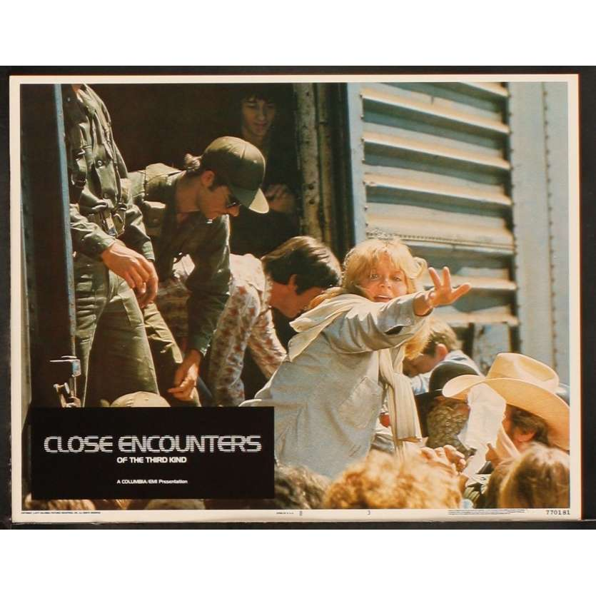 CLOSE ENCOUNTERS OF THE THIRD KIND US Lobby Card 4 8x10- 1977 - Steven Spielberg, Richard Dreyfuss