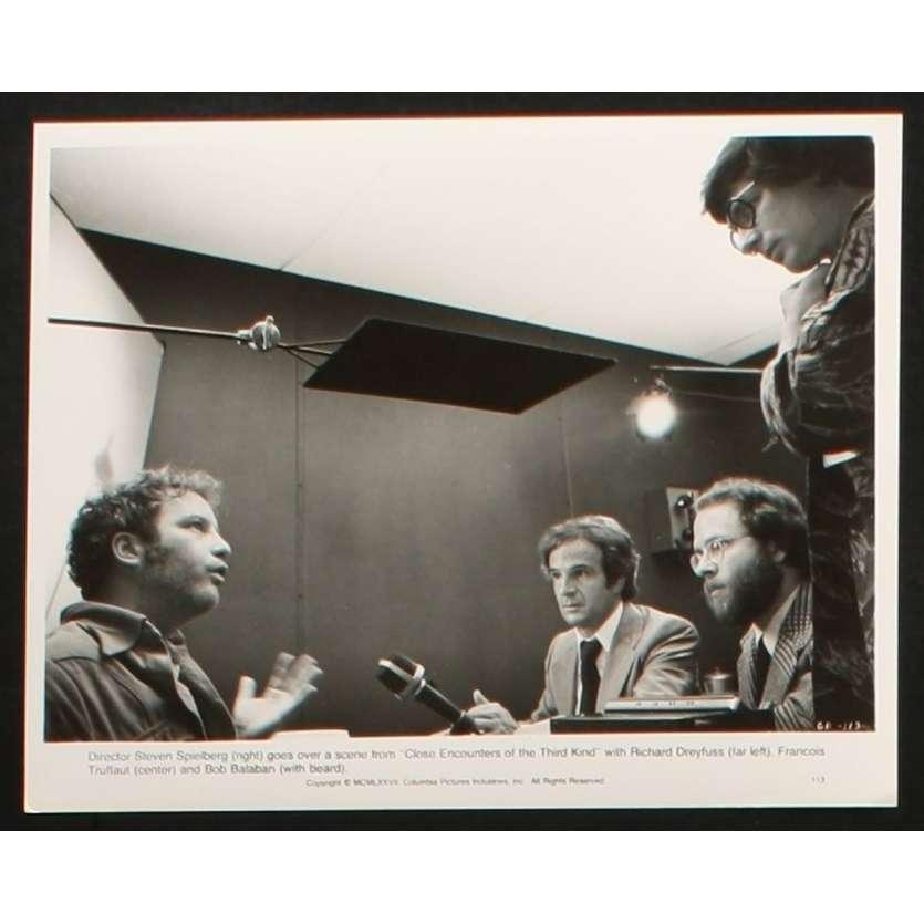 RENCONTRES DU 3E TYPE Photo de Presse 1 20x25 - 1977 - Richard Dreyfuss, Steven Spielberg