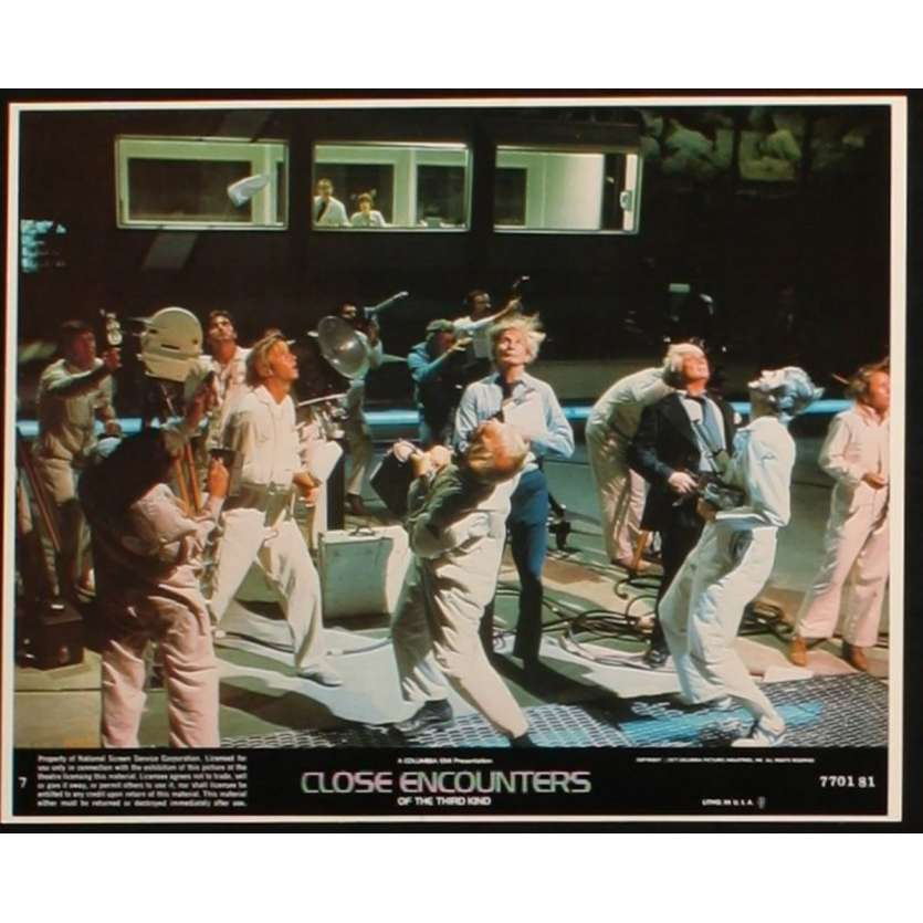 CLOSE ENCOUNTERS OF THE THIRD KIND US Lobby Card 3 8x10- 1977 - Steven Spielberg, Richard Dreyfuss