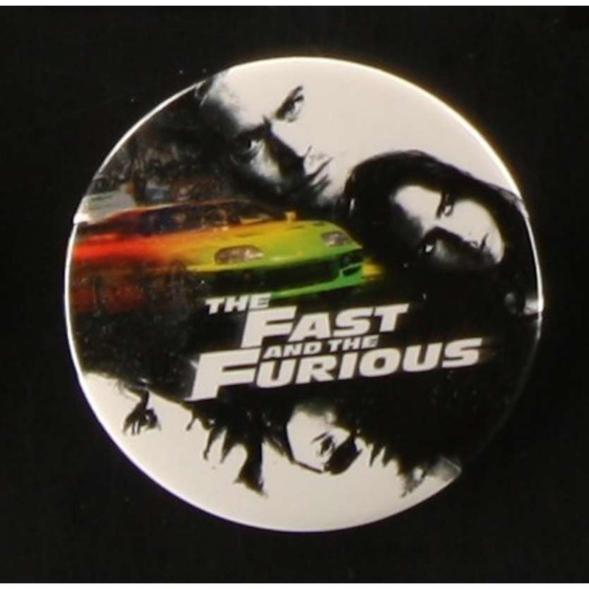 FAST AND FURIOUS Badge Américain d'époque