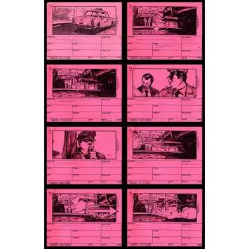 GHOSTBUSTERS Storyboard 1 9x12 - 1983 - Harold Ramis, Dan Aycroyd