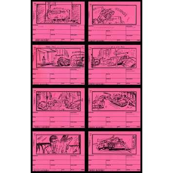 GHOSTBUSTERS Storyboard 5 21x30 - 1983 - Harold Ramis, Dan Aycroyd