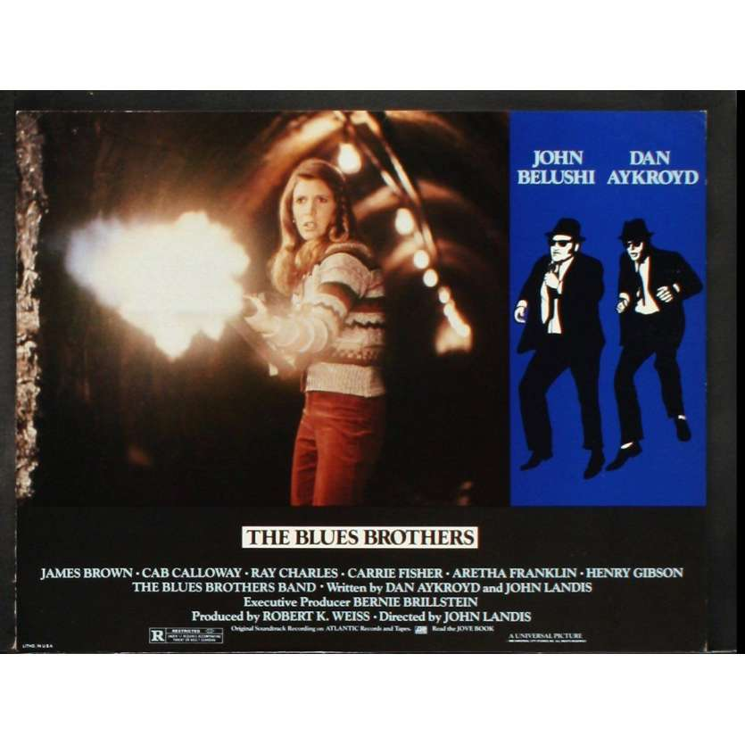 THE BLUES BROTHERS US Lobby Card 2 11x14 - 1981 - John Landis, John Belushi