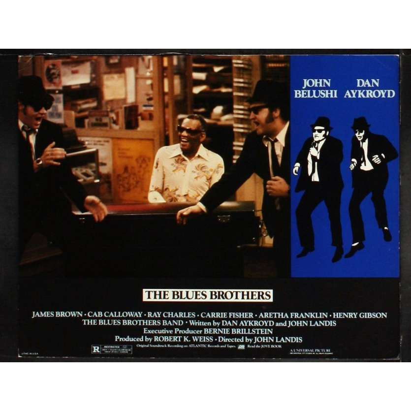 THE BLUES BROTHERS US Lobby Card 3 11x14 - 1981 - John Landis, John Belushi
