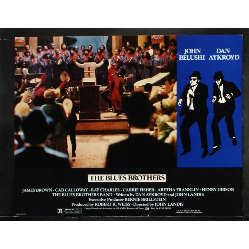 THE BLUES BROTHERS US Lobby Card 5 11x14 - 1981 - John Landis, John Belushi