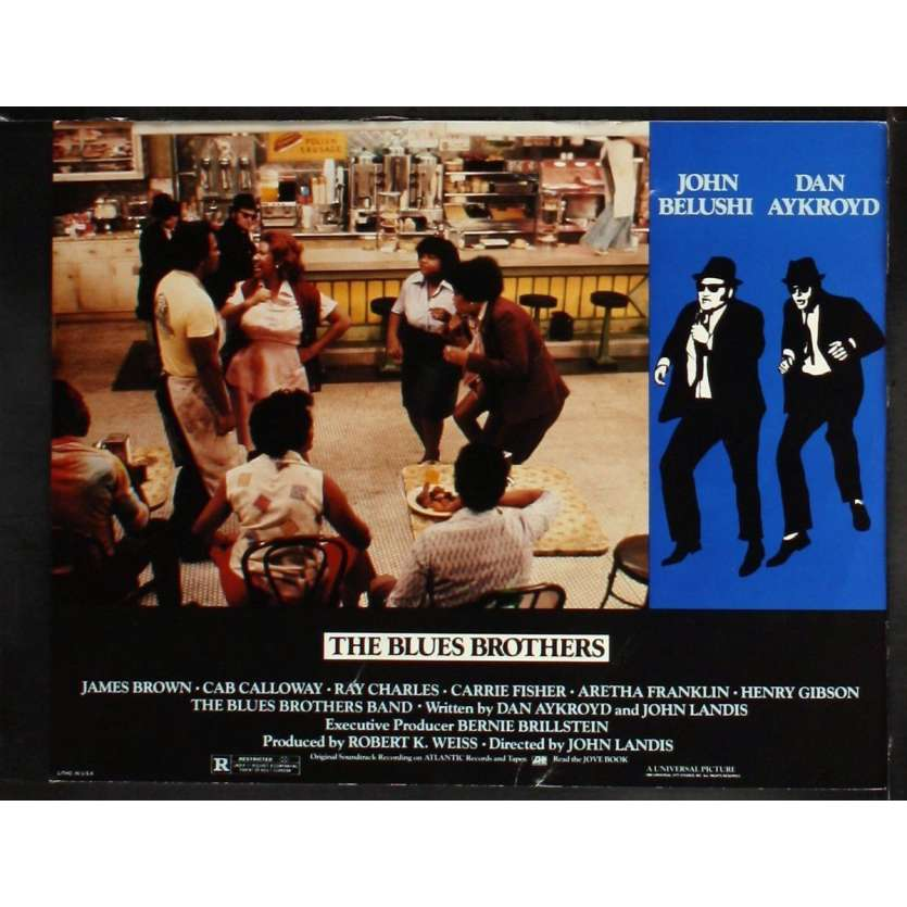 THE BLUES BROTHERS US Lobby Card 7 11x14 - 1981 - John Landis, John Belushi