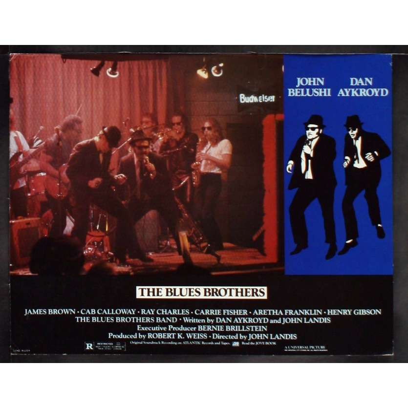 THE BLUES BROTHERS US Lobby Card 8 11x14 - 1981 - John Landis, John Belushi