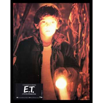 E.T. THE EXTRA TERRESTRIAL French Lobby Card '82 Spielberg 1