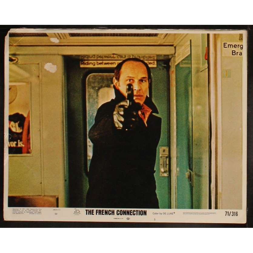 FRENCH CONNECTION US Lobby Card 3 11x14 - 1971 - Willam Friedkin, Gene Hackman, Roy Sheider