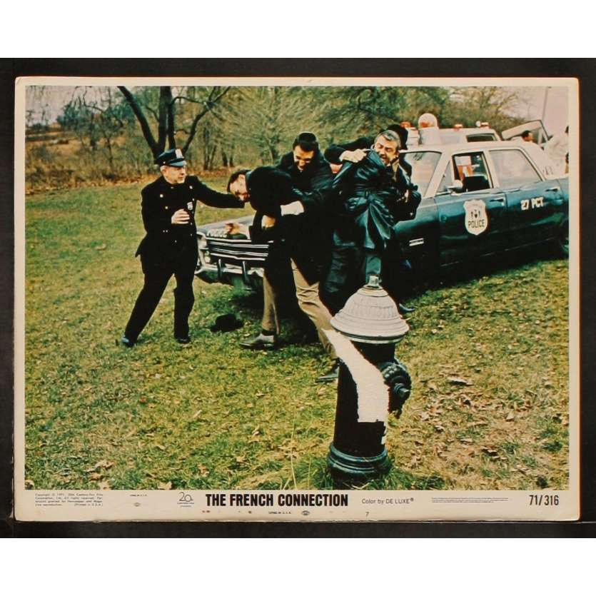 FRENCH CONNECTION Photo de film 2 28x36 - 1971 - Gene Hackman, Roy Sheider, Willam Friedkin