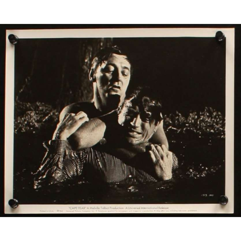 CAPE FEAR US Movie Still 1 8x10 - 1962 - Jack Lee Thompson, Robert Mitchum