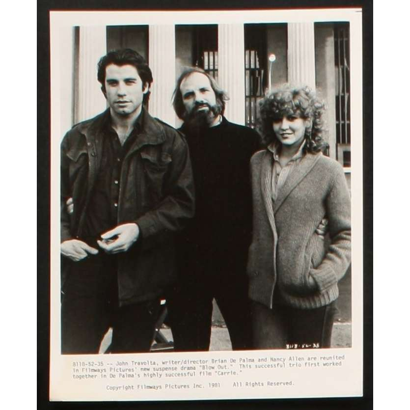 BLOW OUT US Movie Still 11 8x10 - 1981 - Brian de Palma, John Travolta