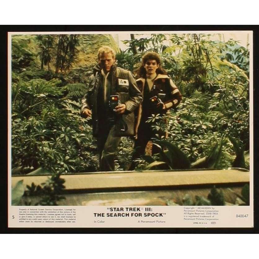STAR TREK III US Lobby Card 5 8x10 - 1984 - , Leonard Nimoy