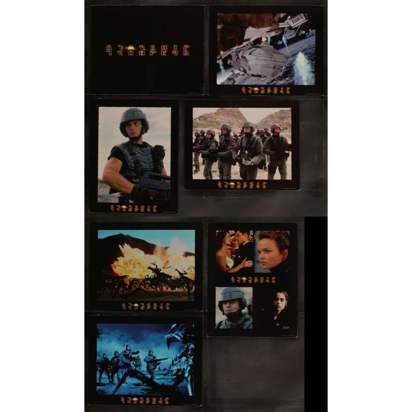 STARSHIP TROOPERS US Lobby Card Set 11x14 - 1997 - Paul Verhoeven,
