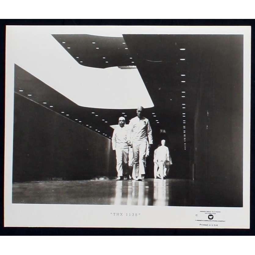 THX 1138 US TV Still 5 8x10 - R1980 - George Lucas, Robert Duvall