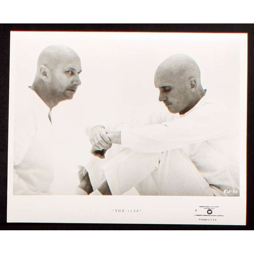THX 1138 US TV Still 2 8x10 - R1980 - George Lucas, Robert Duvall