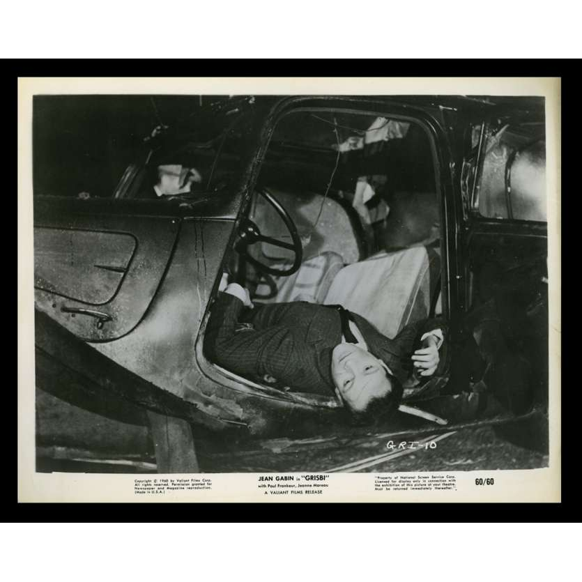 GRISBI US Movie Still 9 8x10 - 1960 - Jacques Becker, Jean Gabin, Lino Ventura
